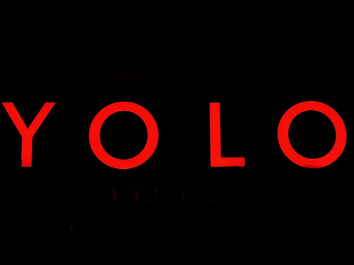 YOLO, From FlickrPhotos