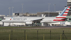 American N196AA 7-2-2016 (Enda Burke Photography) Tags: nyc newyorkcity travel england usa holiday newyork man window america plane canon airplane manchester evening fly flying newjersey airport wings holidays aviation flight wing engine cockpit apron landing motionblur american engines 7d planes pan arrival americanairlines panning terminal3 departure takeoff runway newyorknewyork pilot aa flightdeck avp 757 aero manchestercity pennines manchesterairport winglets taxiing terminal2 terminal1 rvp manc taxiway b757 egcc av8 boeing757200 aviationviewingpark avgeek unitedstatesofameria manairport n196aa landingear amerianairlines runwayvisitorpark 7dmk2 runwayvistitorpark t3carpark manchesterrunwayvisitorpark canon7dmk2