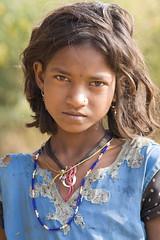 Baiga girl (wietsej) Tags: portrait india girl zeiss child sony tribal hills 135 18 a100 chhattisgarh sal135f18z baiga maikal