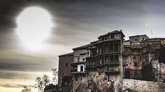 Hanged houses - Capital of the Kingdom (52weeks2016#02 - Looking Down) (ponzoñosa) Tags: houses sun spain looking down unesco hanging casas cuenca colgadas hanged 52weeks