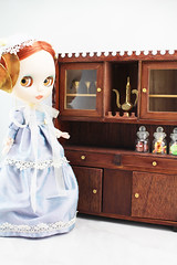 Her Wooden Hutch