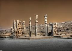 Persepolis - Gate of all Nations (Calim*) Tags: architecture ruins iran persia persepolis