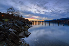 Old Pier, Barnet Marine Park (erwin.delfin_photography) Tags: sunset vancouver reflections oldpier beautifulbritishcolumbia barnetmarinepark mustbevancouver