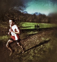 Mud (Nad) Tags: park trees boy shadow england people man tree london feet sport landscape run hampsteadheath iphone