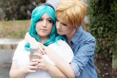 DSC_4074 (XRavenheartPH) Tags: moon cute girl couple cosplay persone haruka yuri cosplayer sailor neptune uranus michiru allaperto