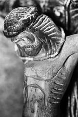 His Head Hangs Down (RMGphotos) Tags: statue mexico religious shrine catholic desert faith religion jesus statues mexican bajacalifornia catholicism shrines religions deserts crucifixion jesuschrist crucified vizcaino catholics sonofgod roadsideshrine