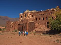Kasbah of El Glaoui (nisudapi) Tags: castle morocco kasbah 2015 telouet elglaoui