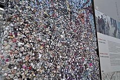 Berlin (Gum) Wall (AntyDiluvian) Tags: trip berlin wall germany gum deutschland berlinwall potsdamerplatz segment chewinggum wad section thewall gumwall 2015