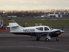 N6081F Rockwell Commander 114B (Aircaft @ Gloucestershire Airport By James) Tags: james airport gloucestershire rockwell lloyds commander egbj 114b n6081f