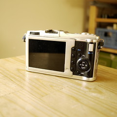 Olympus E-P1 with stock lens (Franklyn W) Tags: camera twitter olympusep1