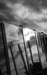 Geluidswal Vianen (Roel 100 Asa) Tags: monochrome landscape lumix blackwhite zwartwit g panasonic g3 dmc landschap vario 45200