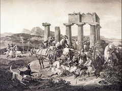 korinth-the temple of apollo (a tear for you greece) Tags: temple ancient greece apollo apollon 1820 korinth