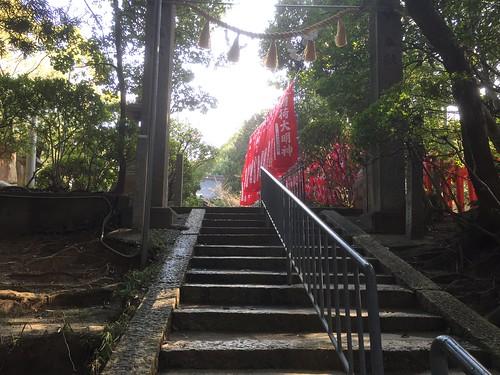意賀美神社へ