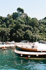 Portofino, Italy (Maria Sedelnikova) Tags: italy film 35mm 50mm kodak ishootfilm canonae1 portofino filmgrain ilovefilm filmisnotdead  filmonly kodakporta160 kodakporta filmforever filmism filmlovers filmfeed ibelieveinfilm filmspiration filmsoul