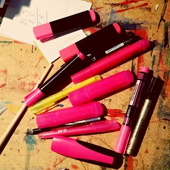 Pink! (Wischhusenpixel) Tags: pink colours marker farbe stift connywischhusen wischhusenpixel