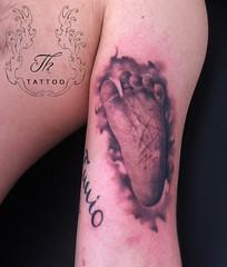 child_foot_tattoo_bl (TH Tattoo - Salon tatuaje Bucuresti) Tags: tatuajebucuresti realistic tattoo tattoos tatuaj salon shop studio ink