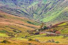 The Colorful Hills of Connemara (PIERRE LECLERC PHOTO) Tags: road travel autumn ireland irish foothills mountains fall nature colors landscape colorful europe cottage hills explore connemara pierreleclercphotography