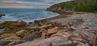 Early morning in Acadia