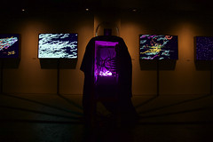 Enter The Machine: Exhibition shot (Eric Corriel) Tags: data harddrive artinstallation visualzation