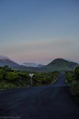 Road to silence. (chribs) Tags: road sunset sky portugal nature zeiss abend sonnenuntergang outdoor sony natur naturallight e einsamkeit azores weg einsam ruhe azoren strase sonya7 emount sonnartfe1855