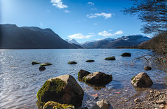 Ullswater (Ashey1209) Tags: sky snow water rocks lakes lakedistrict hills cumbria nationaltrust ullswater