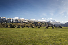 Castlerigg stone circle (christinerussell45) Tags: england tourism monument landscape view cumbria mysterious stoneage ancientmonument castleriggstonecircle englishlakedistrict