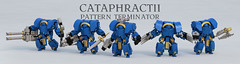 Cataphractii Pattern Terminator (Garry_rocks) Tags: pattern lego 40k warhammer ultramarine terminator mecha spacemarine preheresy cataphractii