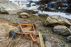 """Old trolley"" (Terje Helberg Photography) Tags: sea abandoned norway boat seaside rust trolley samsung coastal bergen visitnorway forfall ilovenorway nx30 visitbergen"
