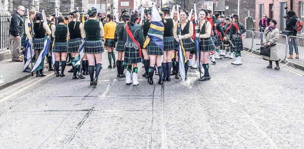 SHORECREST HIGH SCHOOL [ST. PATRICK'S PARADE IN DUBLIN 2016]-112225