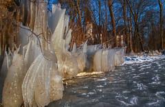 Eistage an der Mritz (b.stanni) Tags: winter lake ice germany landscape deutschland see licht wasser outdoor schloss eis landschaft wald mv klink mritz