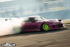 Mazda RX-7 (Gergo Toth) Tags: pink nikon 180 mazda rx7 matsuri sideways drift hotpink rockingham mazdarx7 rockinghammotorspeedway d7100 driftmatsuri gergototh