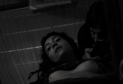 In bed (Govinda John) Tags: blancoynegro beautiful canon nude blackwhite bed retrato inbed autorretrato tetas belleza reflejos bubis canont5i