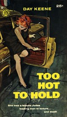 Gold Medal Books 931 - Day Keene - Too Hot to Hold (swallace99) Tags: vintage 50s goldmedal thriller robertmcginnis