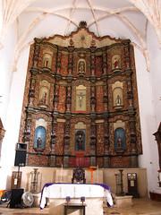 "Valladolid: l'église de San Bernardino <a style=""margin-left:10px; font-size:0.8em;"" href=""http://www.flickr.com/photos/127723101@N04/25862216301/"" target=""_blank"">@flickr</a>"