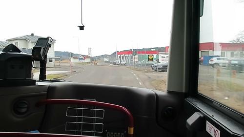 Buss 309 i Kareby 2016