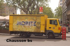 160412 044 (chausson bs) Tags: barcelona yellow amarillo moritz groc camiones camions