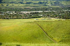 View of Livermore from Brushy Peak (jeffmgrandy) Tags: landscape hiking hills livermore altamont brushy