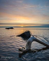 Calm Contemplation (jonnyfixedgear) Tags: wisconsin sunrise ed pier nikon lakemichigan greatlakes nikkor vr afs dx unsalted f3556g atwaterbeach d7000 18140mm afsdxnikkor18140mmf3556gedvr