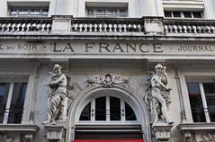 La France (skipmoore) Tags: paris architecture figures chimera lafrance