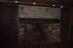 Firewall (muse_whipped) Tags: fireplace interior hearth beams stoneinterior