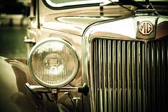 Vintage Drive (Pixelglo Photography) Tags: light classic car vintage classiccar shiny lincolnshire mg lincoln headlight radiator motorcar brayford mgcar mgbadge mglogo lincolnclassiccarrally