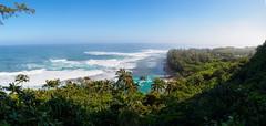 Beach Kalalau trail, Napali coast, Kauai Hawaii (dzroth) Tags: beach kalalau napalicoast kalalautrail