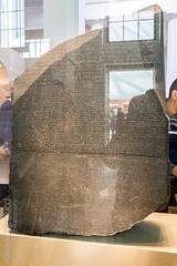 Rosetta Stone (Daniele Nicolucci photography) Tags: uk greatbritain england london museum greek unitedkingdom memphis egypt exhibit translation gb stele language britishmuseum hieroglyphs rosettastone 2016 demotic demoticscript