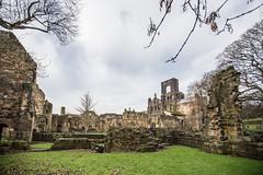 Kirkstall Abbey #1 (Andrea_Lazzarato) Tags: old church abbey decay leeds medieval kirkstall rudere abazia