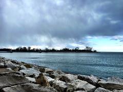 Snow Squall - Montrose Harbor (Thomas Lesh) Tags: snow chicago squall illinois unitedstates