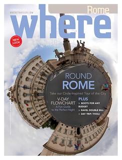 Cover Where Rome February 2014