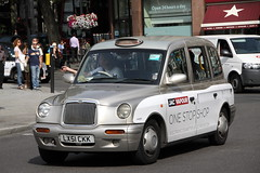 LTI TXi London Taxi in Jac Vapour livery (Ian Press Photography) Tags: london cars car carriage cab taxi transport taxis international cabbie cabs txi vapour jac livery lti