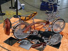 Custom bike  2016 Cleveland Auto-Rama (SteveMather) Tags: show ohio usa bicycle march nikon cleveland center piston chrome summit dxo oh nik custom 50th northeast ela ix powered autorama 2016 chromed d7100 opticspro