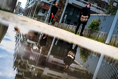 Afterschool (tomabenz) Tags: street city urban paris reflection streetphotography streetview sonya7rm2 a7rm2