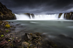"Godafoss ""Waterfall of the Gods"" (Frederic Huber 